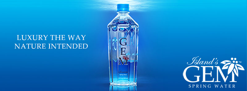 Gem Spring Water From The Blue Mountains Of Jamaica