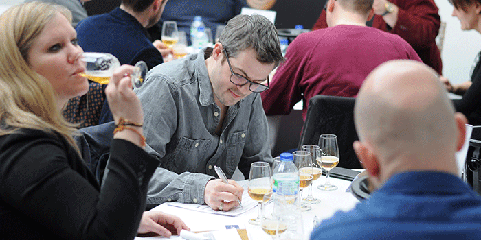 Judges at the London Beer Competition