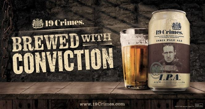 19 Crimes launches beer in the US