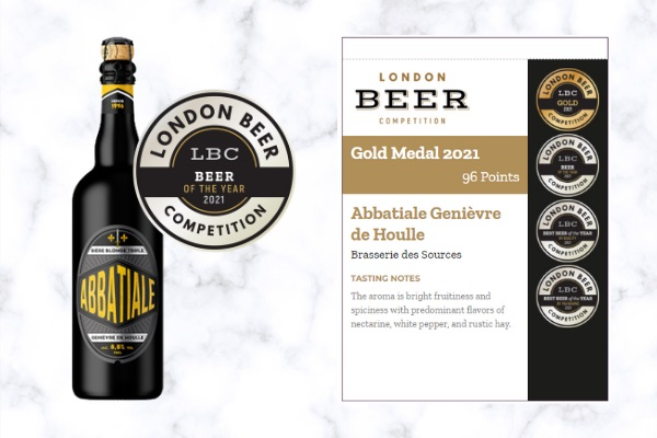 2021 London Beer Competititon - Beer of the Year