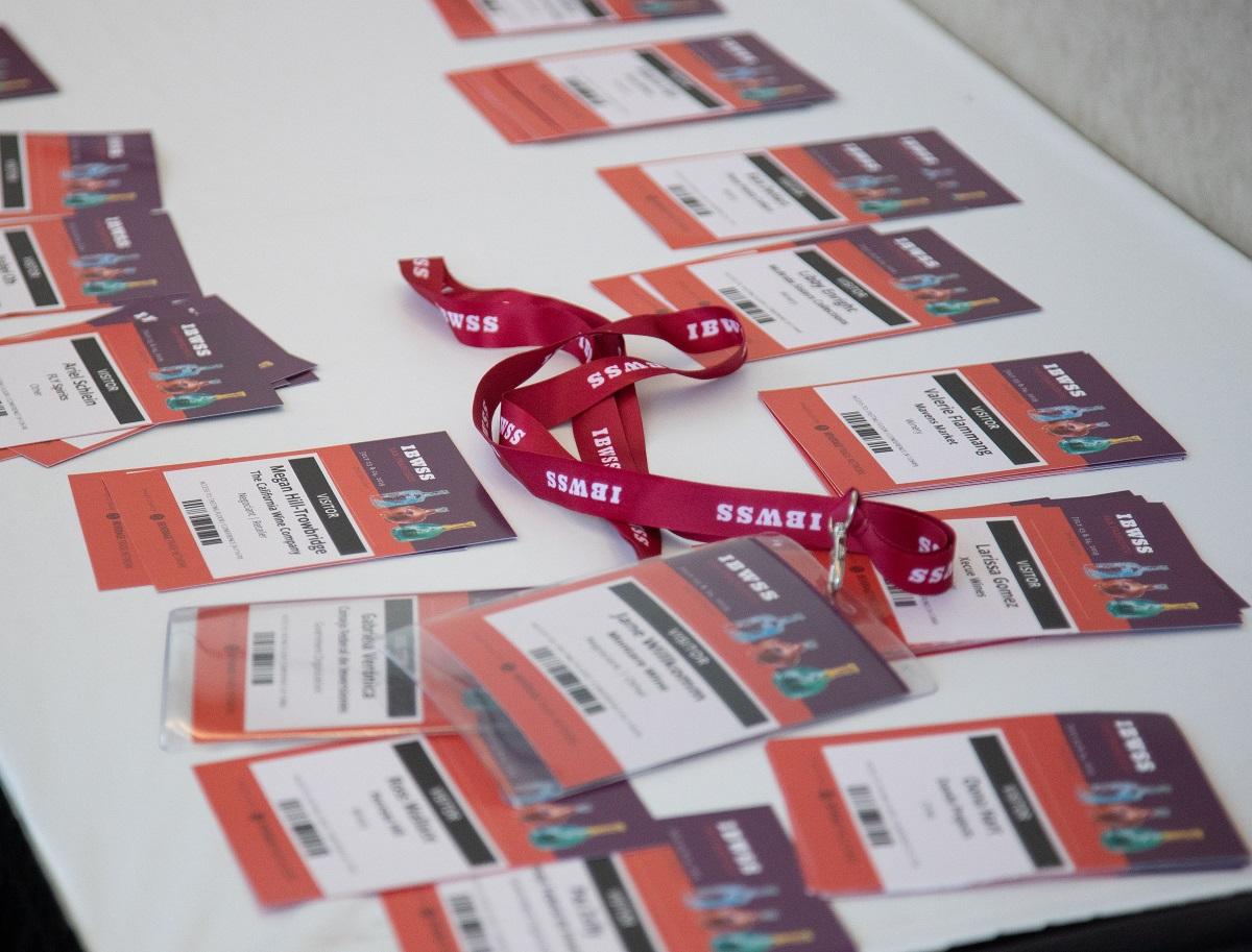 IBWSS Visitors badges