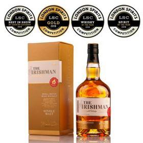The Irishman Single Malt, Spirit of the year at LSC 2018