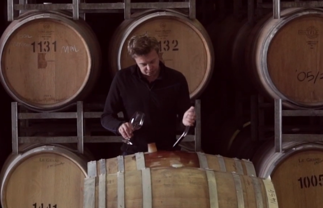 Hamish Maguire, Shottesbrooke Vineyard's General Manager and Chief Winemaker