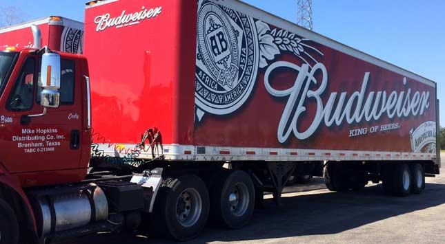 <h2>Mike Hopkins Distributing (Bud Wholesaler)</h2>