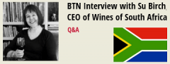Photo for: BTN Interview with Su Birch, CEO of Wines of South Africa